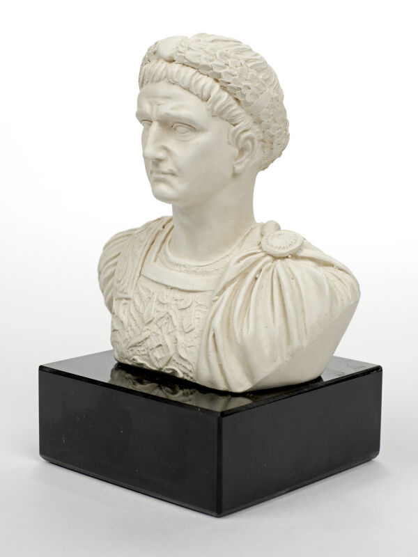 Roman bust of Emperor Tiberius - reduced size