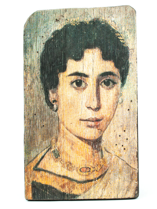 mummies portrait young roman woman
