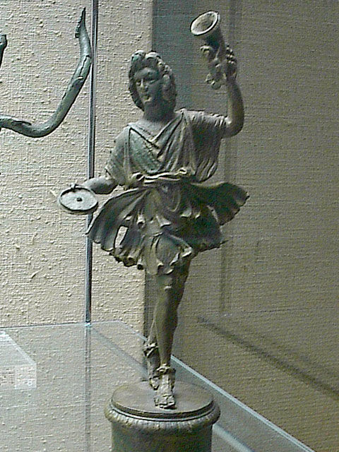 Lar - the Roman House God - statue (replica)