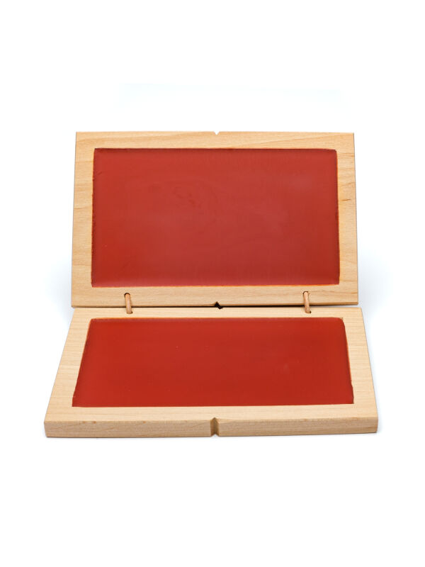 Wax tablet double | red writing tablets including metal stylus
