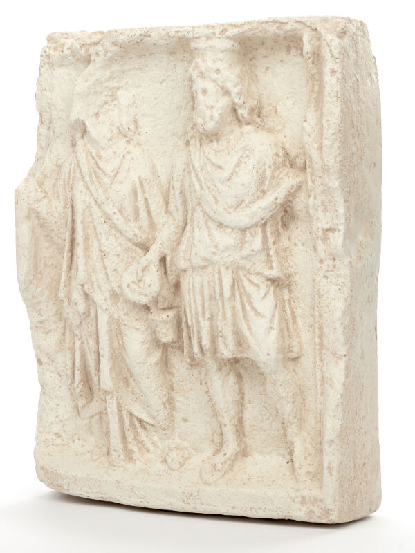 Isis and Serapis | Roman and Egyptian goddesses and god relief