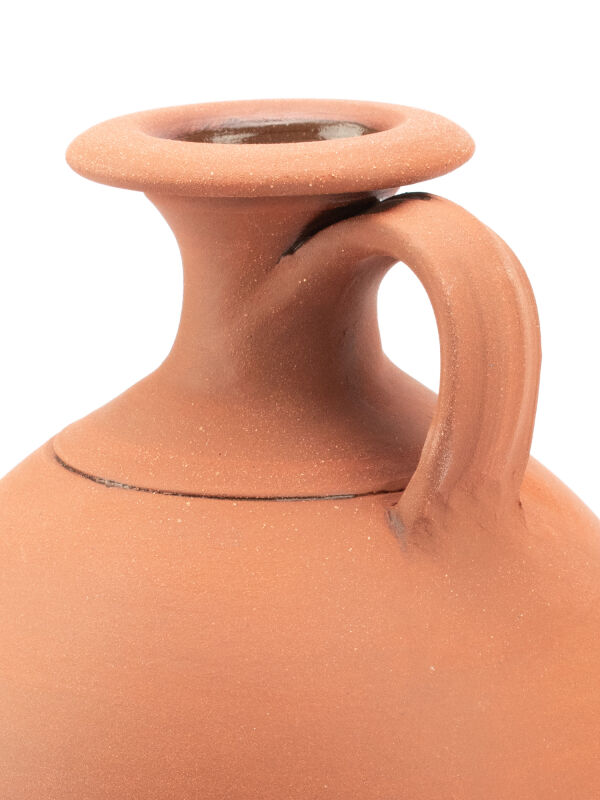Roman Jug in Red Clay