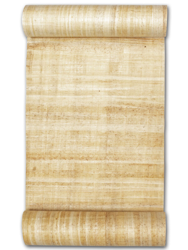Egyptian Papyrus roll - 75 inches