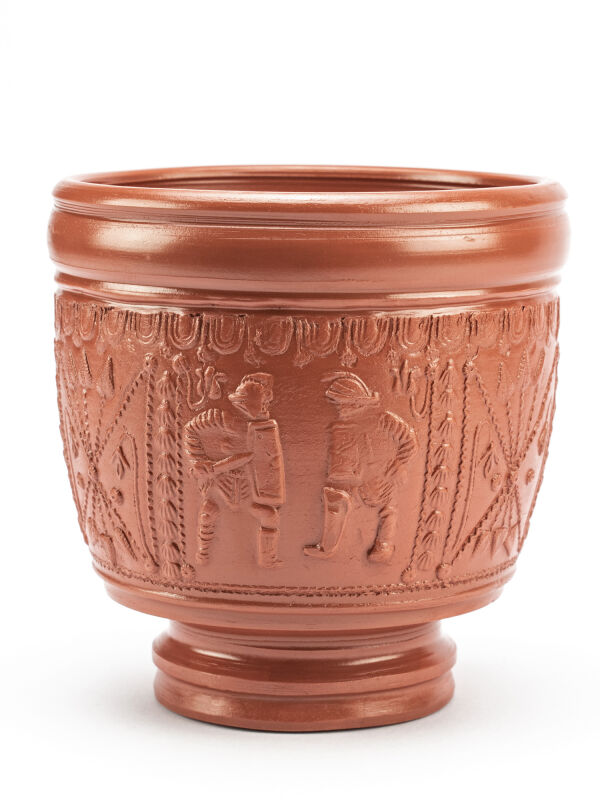 Roman Cup with Gladiators