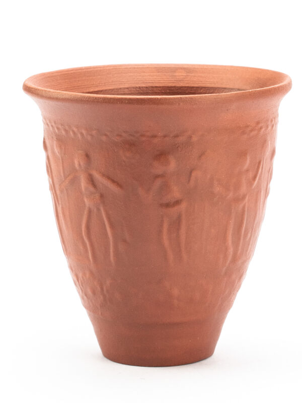 Cup in Terra Sigillata with Skeleton Design