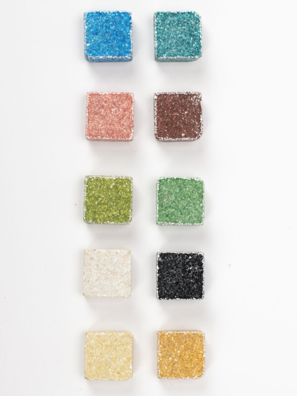 Mosaiksteine Byzantic bunt mix - 10x10x4mm -200g