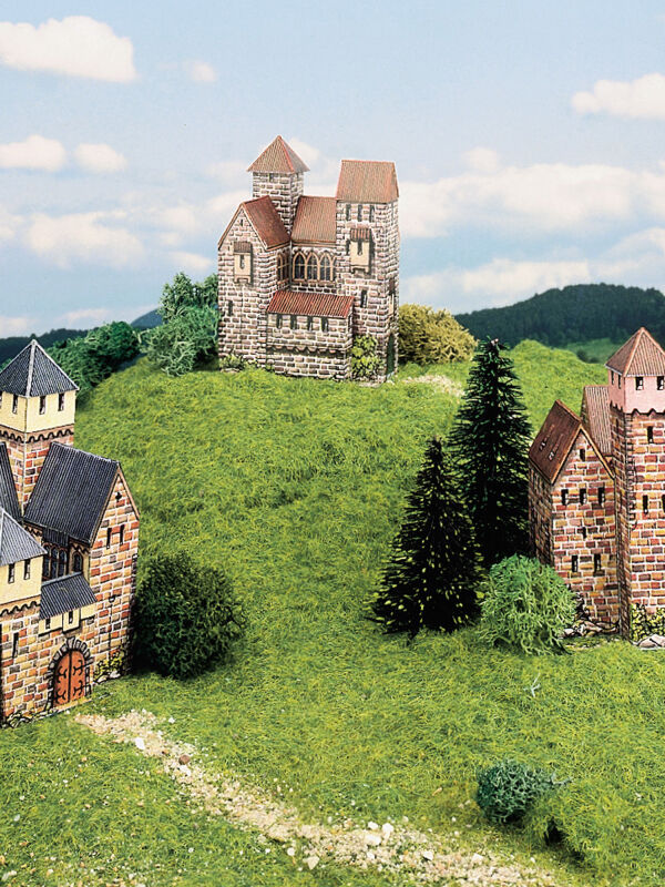 Cut-out-sheet three castles