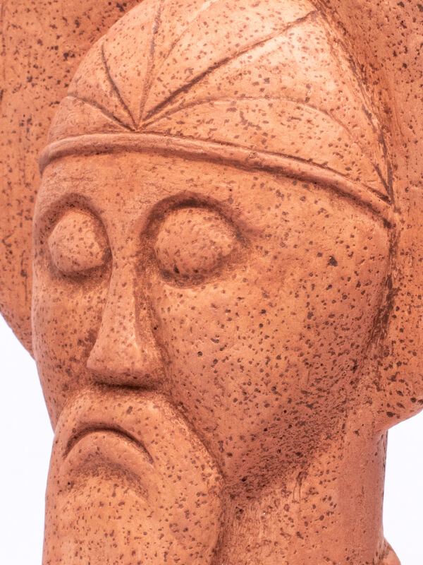 Celtic Ruler from Glauberg bust