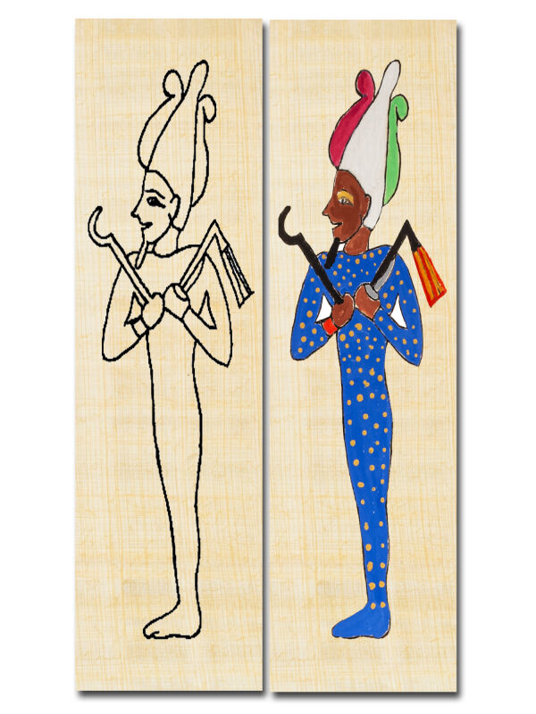 Bookmark Egyptian God Osiris