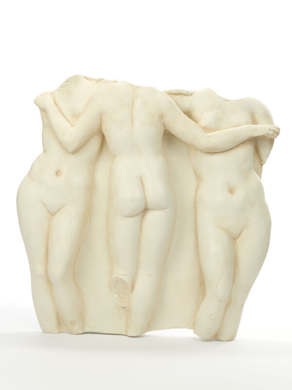 Relief The Three Graces Charites, ancient Greek goddesses...