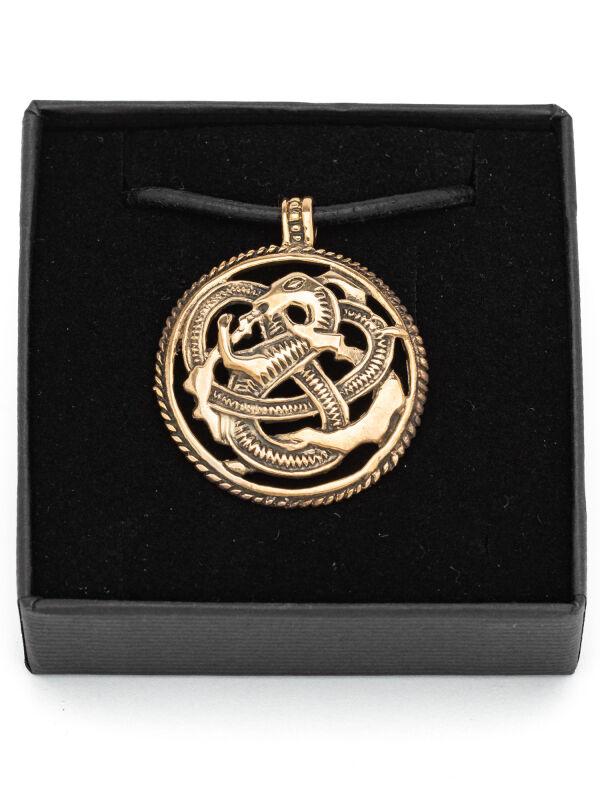 greiftier amulett bronze der wikinger wikingerschmuck. Black Bedroom Furniture Sets. Home Design Ideas
