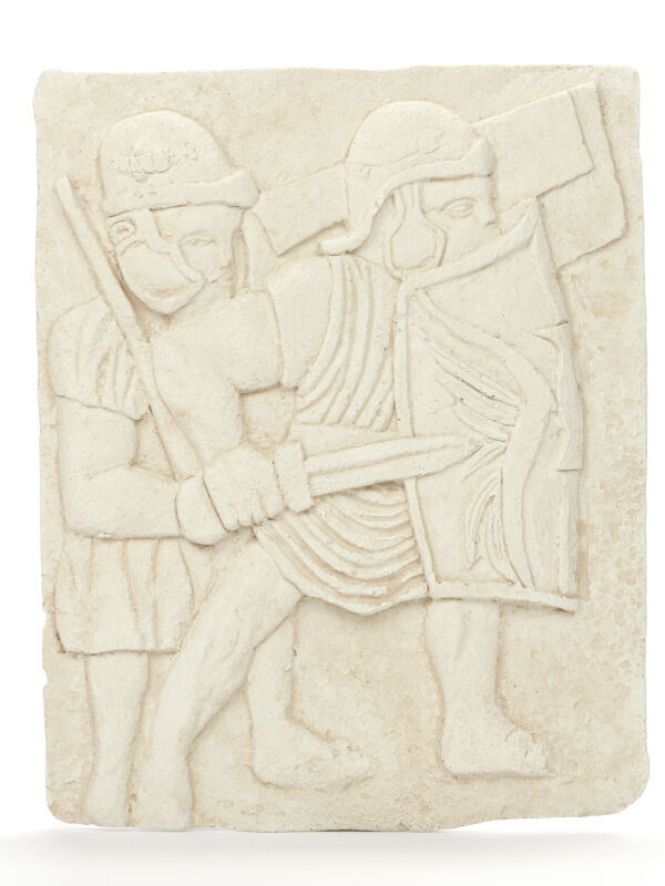 Roman Legionaries Fighting