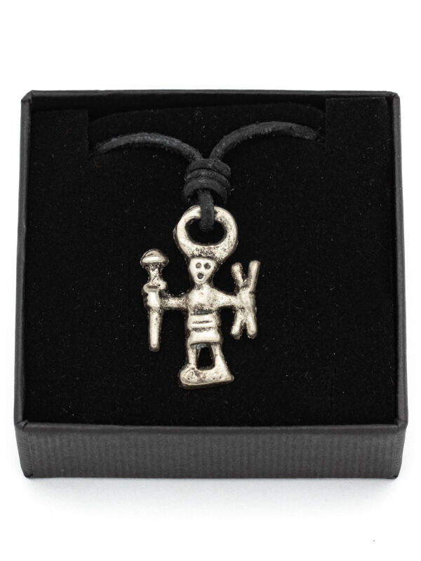 Viking jewellery pendant Odin weapon dancer