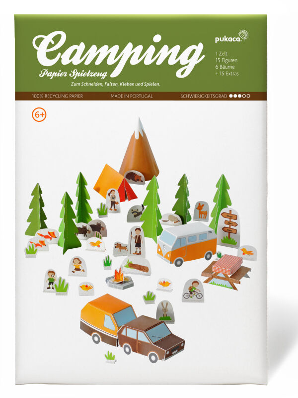 Camping craft sheet