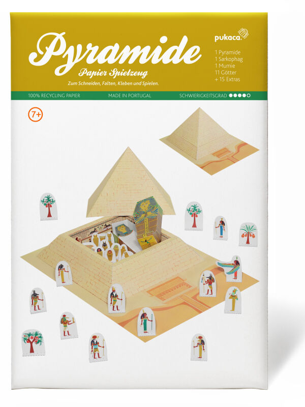 Pyramids model kit Egypt - cardboard model making pharaoh...