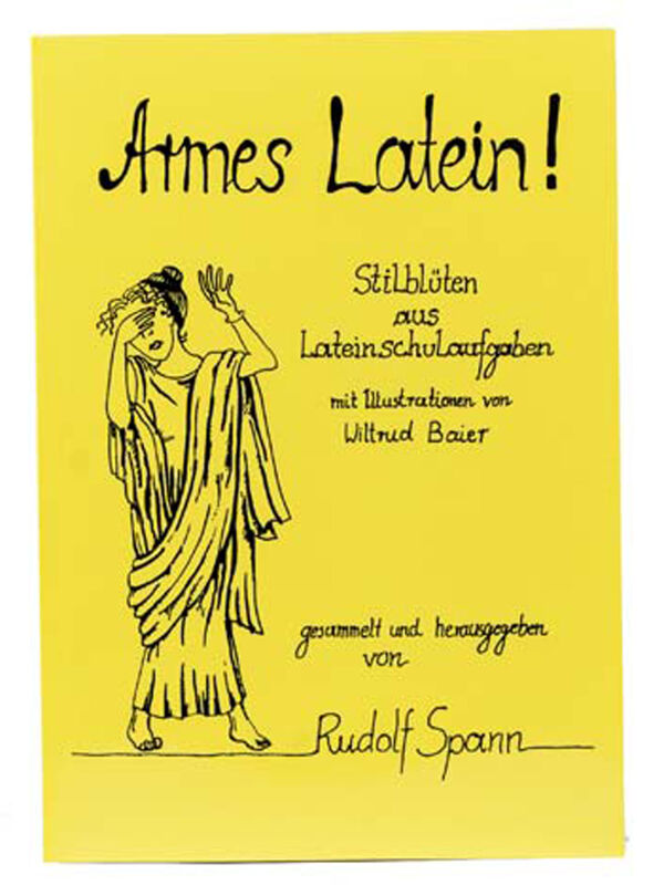 Poor Latin! - Style blossoms from Latin school exercises