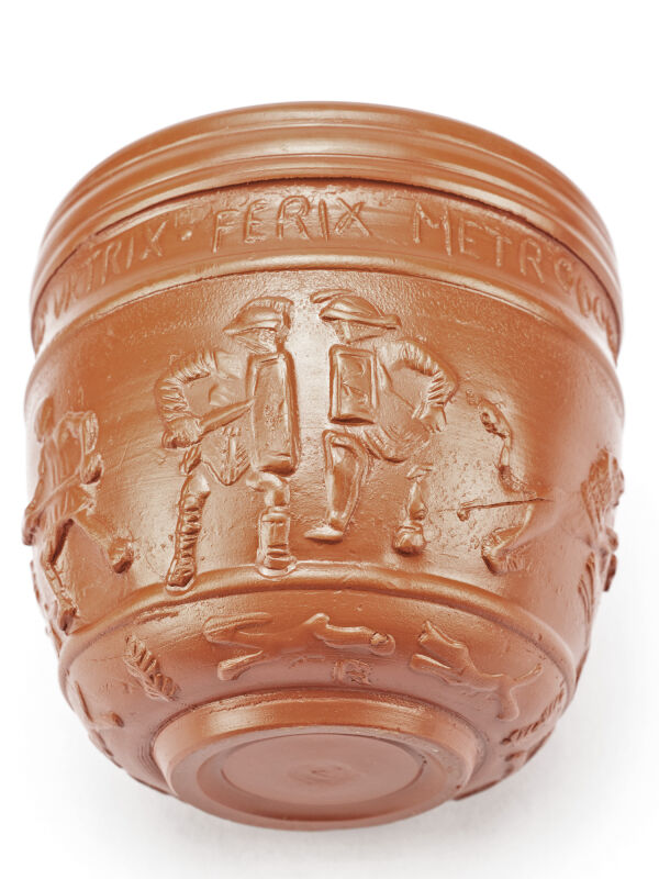 Roman Cup With Gladiators (small)