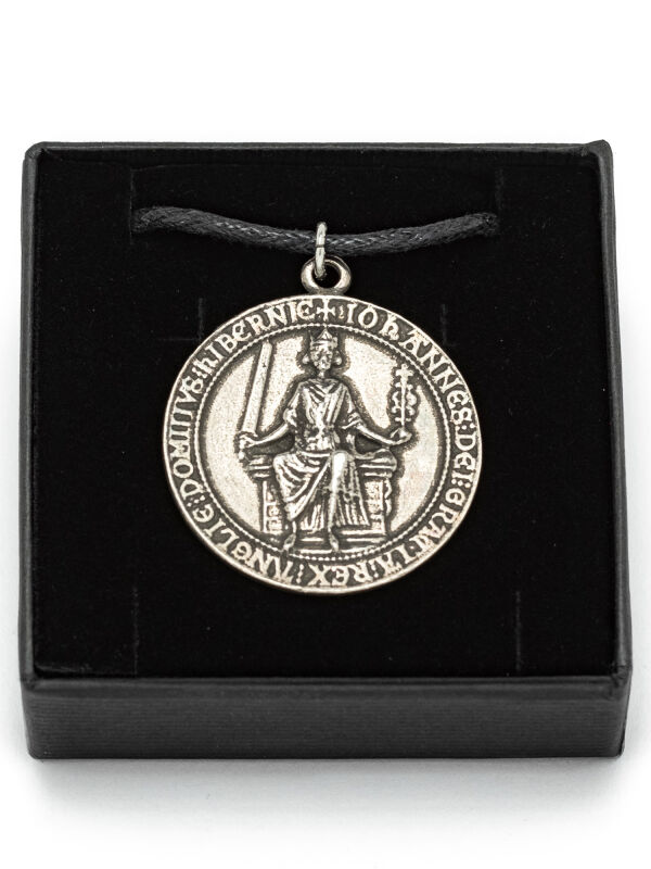King John seal Jewelry Pendant