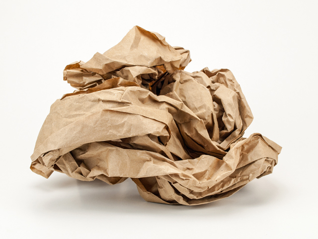 Knüllpapier