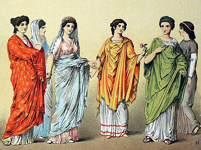 Römische Kleider