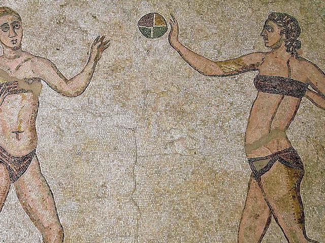 Bikinimädchen Mosaik