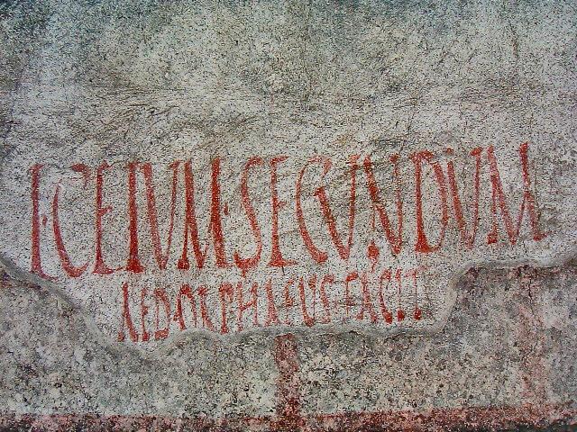 Römisches Graffiti
