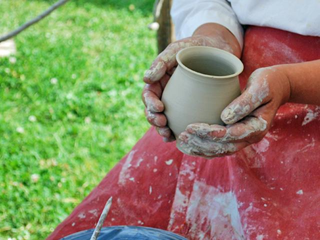 Herstellung römischer Keramik