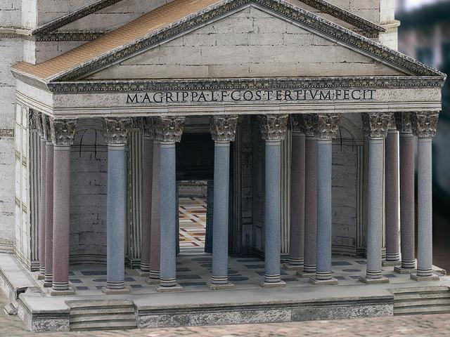 Kaiser Hadrians Pantheon